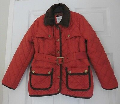 Girls Quilted Jasper Conran Jacket, Age 7 - 8 Years