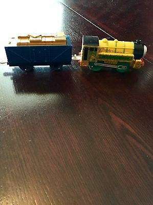 Thomas And Friends Motorized VICTOR + Tender Motorized Train Trackmaster 2011