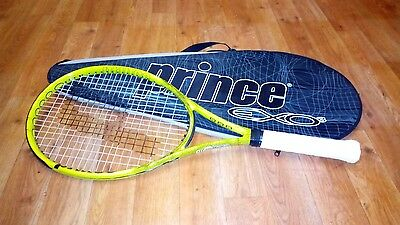PRINCE Air O3 REBEL Yellow Tennis Racket in GREAT condition