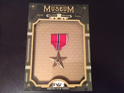 2016 Goodwin Champions Museum Collection Bronze Star Medal SSP 1/1? WW2 WWII