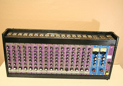 Vintage Heil Hm 1000 16 Channel Modular Mixer & EQ *Preamps *Rare *As Is