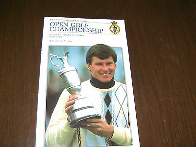 Two Open Golf Championship Programmes 1988 & 1992