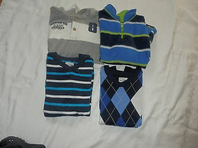 Lot of 4 Boys Children's Place Sweaters/Pullovers Sz. Lg. 10/12