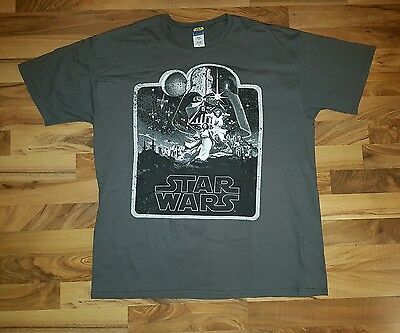 star wars t shirt size xl