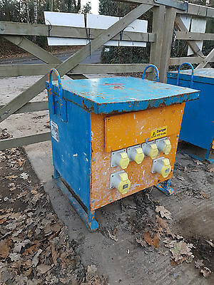 Blakley 10 KVA 3 phase 110 volt 16/32 Amp Site Electric Transformer £175+vat