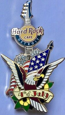 4th. of July Pin from Hard Rock Cafe Detroit