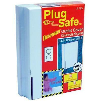 Plug Safe Decorator Outlet Covers For Child Proofing Your Home lot of 10