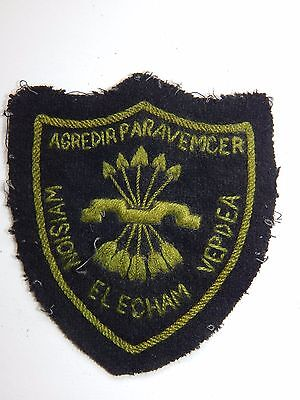 Badge For Jacket War Spain Italy 1936