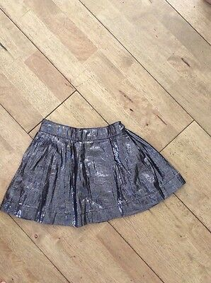 Girls Metallic Party Skirt By Gap Age 6