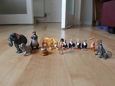 12  Figures  Disney  The Jungle book - figurines toys cake toppers