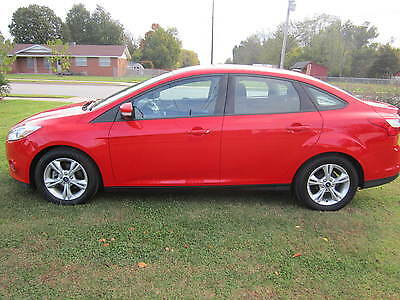 2014 Ford Focus SE Ford Focus 2014 Low miles NO RESERVE