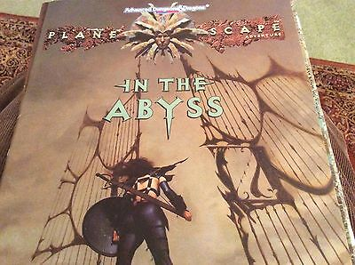 AD&D - Planescape - In the Abyss.  TSR 2605 vg condition