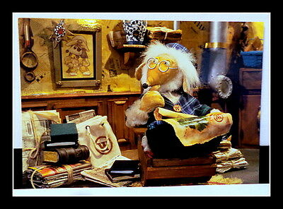 THE WOMBLES ELISABETH BERESFORD  EXTREMELY RARE  Signed 6x4 Photograph/Postcard