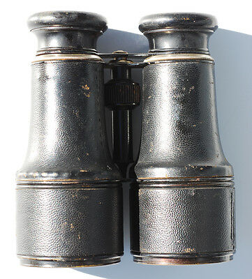 Marchand Paris Field Glasses Binoculars Signal Service Day & Night