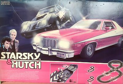 """Scalextric """"Starsky & Hutch"""" boxed set"""