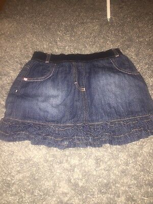 Girls Denim Skirt Age 5-6