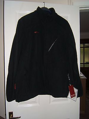 BNWT Mens Extreme Mountain Warehouse Black Fleece Jacket  size XXXL