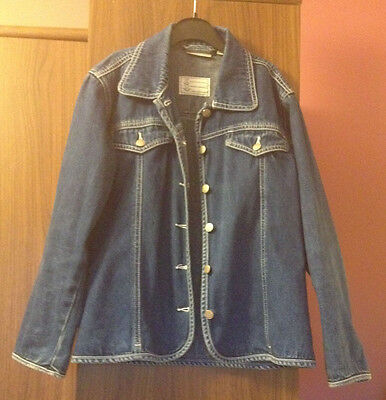 KIABI Girls denim blue jacket age 10 yrs