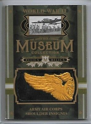 2016 Goodwin Museum Collection Army Air Corps Shoulder Insignia SP WW2 WWII