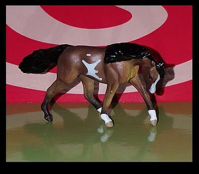 Breyer Mini Whinnie Bay Pinto RUNNING WALK TWH MARE of 6 Pintos 720201