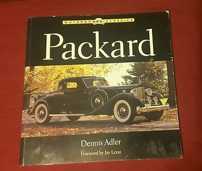 Packard by Dennis Adler Foreword by Jay Leno