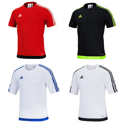 Adidas Youth Junior Estro 15 Jersey Soccer Football Training Top Shirts S/S