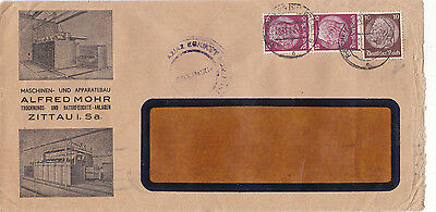 Germany..greece..reich.1939 Ilustrated Cover,.thessalonica Censhorship