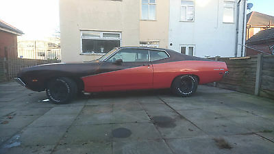 1971 ford torino 500 fastback sportsroof 351 v8 auto mustang muscle car hot rod