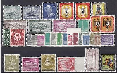 Germany BERLIN compl. collection all in MNH from 1955-1990 US$ 1200