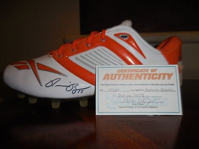 Miami Dolphins Ronnie Brown Signed Cleat