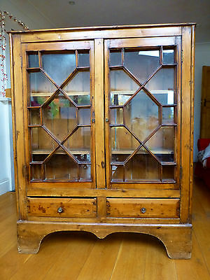 Antique Astral-Glazed Bookcase