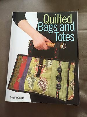 """""""quilted Bags And Totes"""" How To Make Projects Paperback Book"""