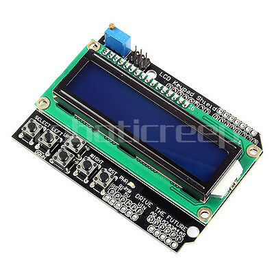 Hot Sale! LCD 1602 Board Keypad Shield for Arduino UNO Mega2560 R3 Robot ARM