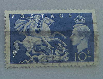 Great Britain St. George Slaying Dragon #288 Lightly Cancelled Used