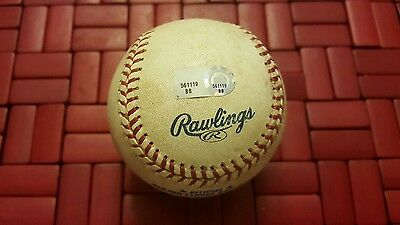 Greg Maddux Game Used Ball from 346 win