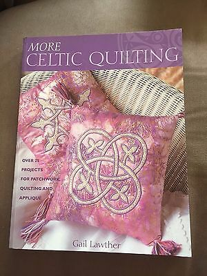 """""""more Celtic Quilting"""" How To Make Projects Large Paperback Book"""