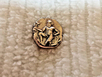 Phallic Coin - Greek city of Thasos off Thrace Approximately 400-355 BC