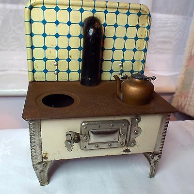 Vintage Tin Plate Aga Style Cooker