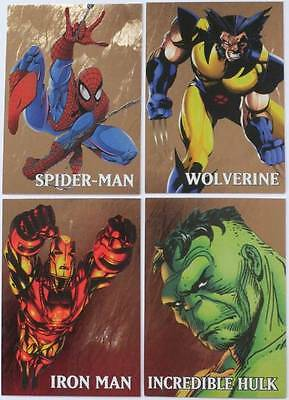 Marvel Creators Collection GOLD ~ Complete Set of 4 Cards