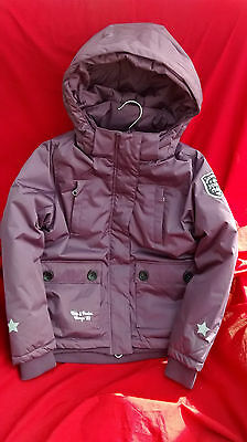 HORZE Julianna Jr (Kids) Padded Jacket, Purple, sizes 122-152 Ages 7-12yrs.