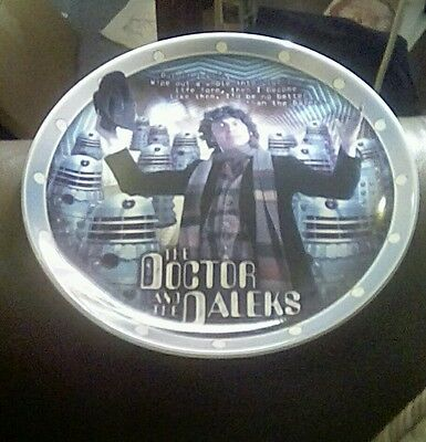 Doctor Who collector plate
