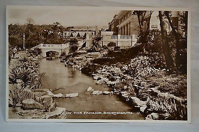 vintage Bournemouth postcards Pavilion Bournemouth Real Photograph