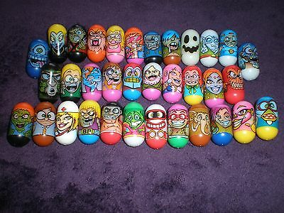 Mighty beanz, collection, 2004, ALL 34, inc RARE Ghost bean
