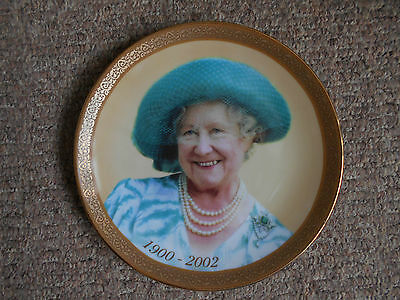 """Queen Mother limited edition Bradex plate (Davenport) """"Queen of the Century"""""""