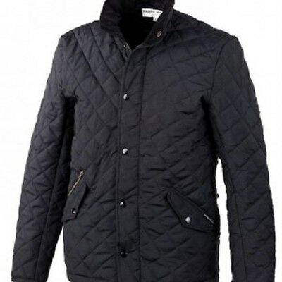 Harry Hall Darwen Mens Quilted Jacket - Black, Medium or Large avail. RRP ~ £65
