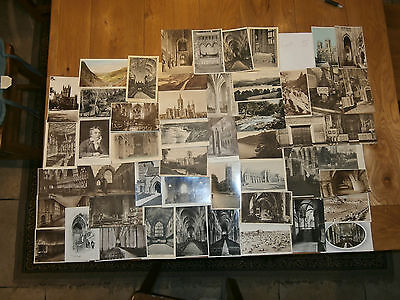 50 Old vintage postcard collection  places people scenery Ref 5