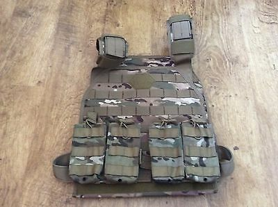 MTP Multicam Molle Plate Carrier Vest Airsoft Paintball