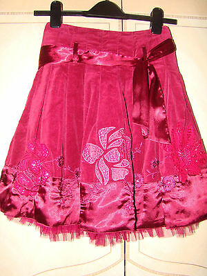 Monsoon Girls Party Sequin Skirt age 8-10