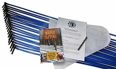 Deluxe Maple Sugaring / Maple Sap Tapping Starter Kit Tap 20 Trees Maple Taps