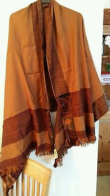 genuine camel shawl made in Egypt